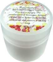 Rosewater Cream 50g: Suitable for dry skin.