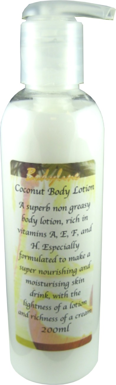Coconut Body Lotion 200ml: