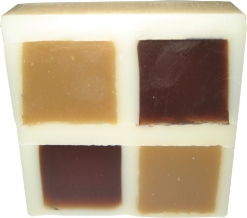 Vanilla & Cinnamon Soap Slice