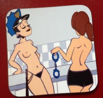 Cuff Me Coaster