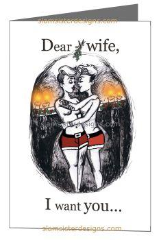 """Under The Mistletoe"" Wife Edition"