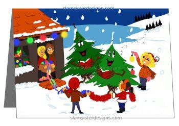 """Christmas Tree Carols"""