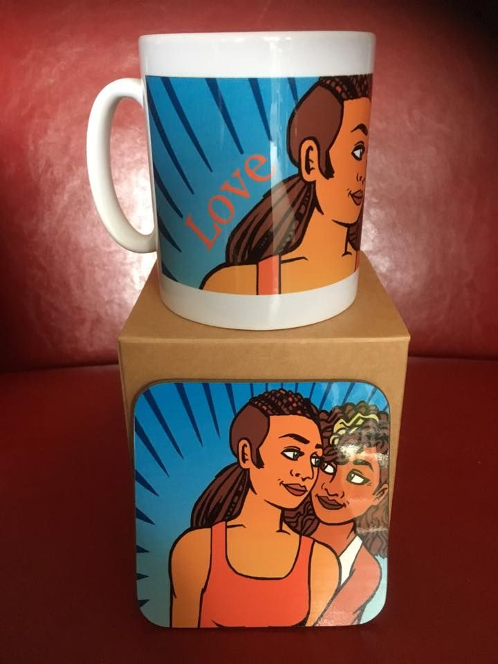 Sunshine Mug and Coaster Set
