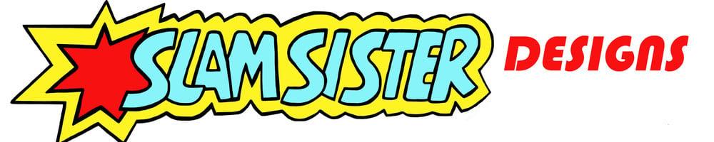 Slamsister Designs, site logo.