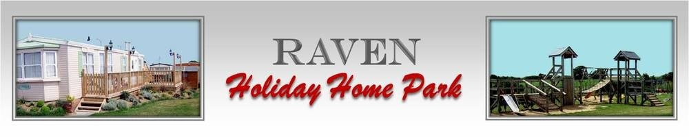 Raven Holiday Home Park, site logo.