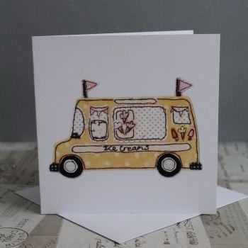 Super Scoops Ice Cream Van