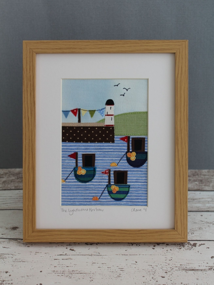 Harbour Lighthouse Appliqué Pattern