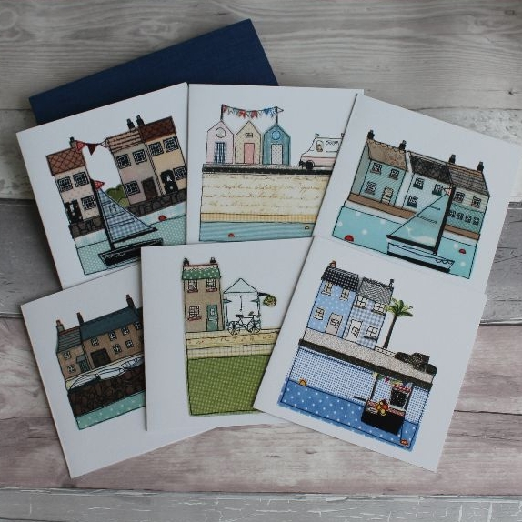 Cornish Cottage Cards