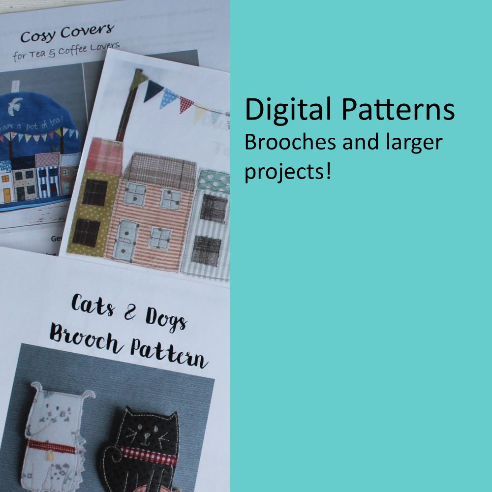 Brooches and larger projects