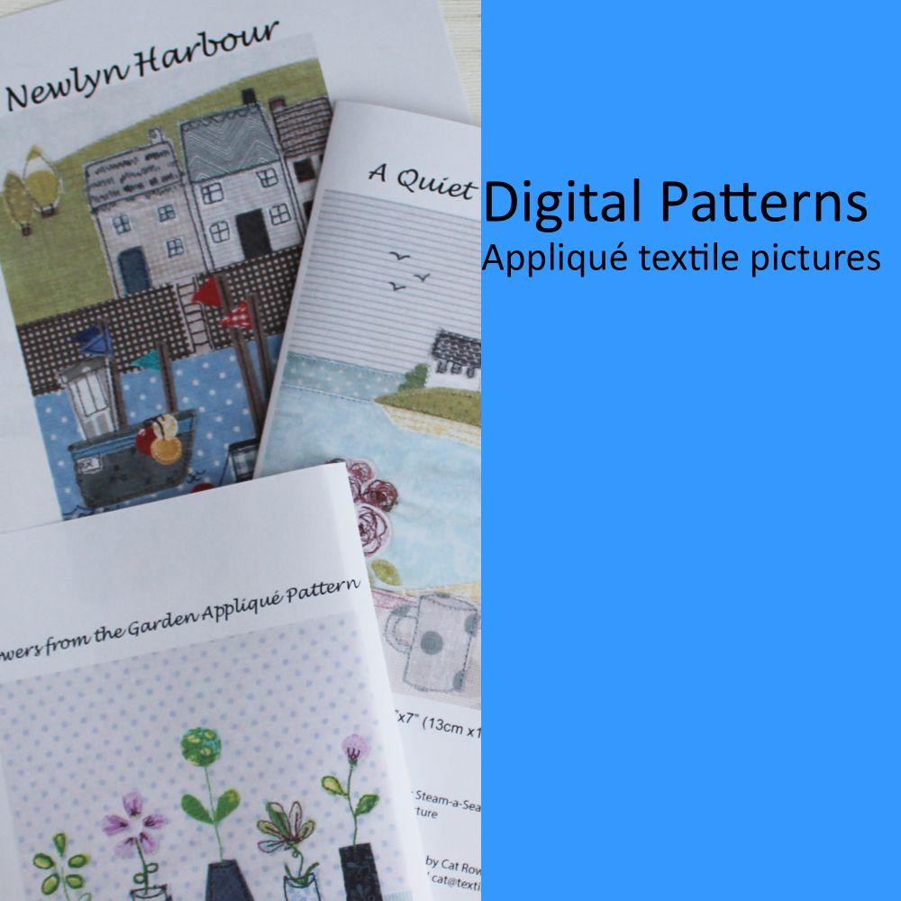 Appliqué Textile Pictures