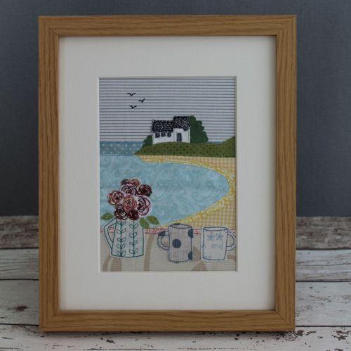 A Quiet Cornish Cove Digital Pattern
