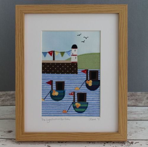 Harbour Lighthouse Digital Pattern