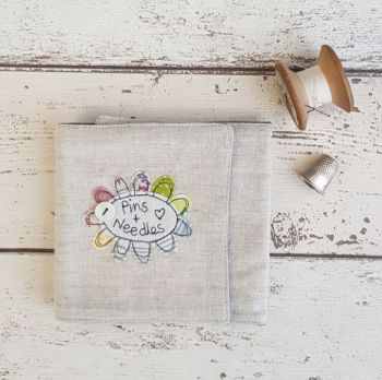 Natural Linen Sewing Wrap