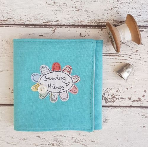 Turquoise Sewing Wrap