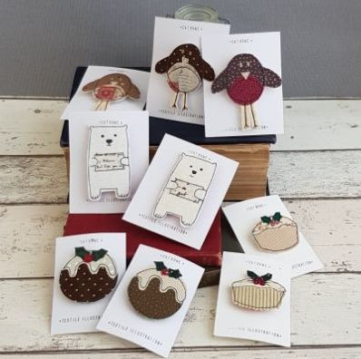 Christmas - Brooches