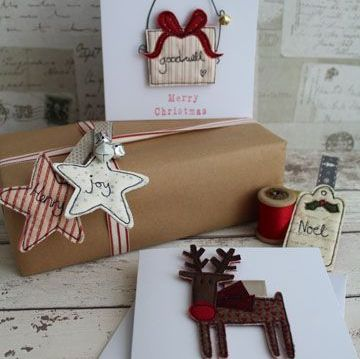 Zoom Workshop - Christmas Brooches, Gift Tags or Decorations