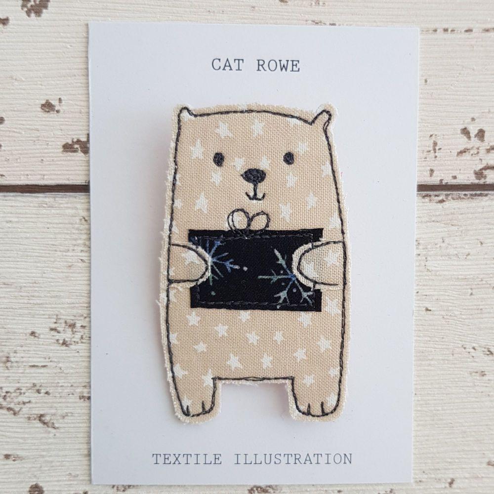 Polar Bear - with a parcel