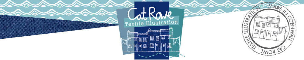 textileillustration, site logo.