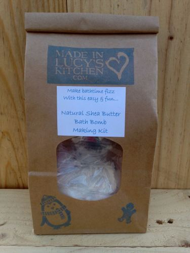 natural bath bombs - bath bomb making kit