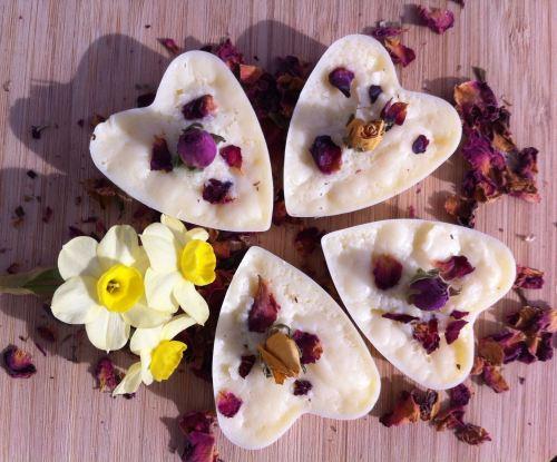 luxury handmade floral heaven bathmelt