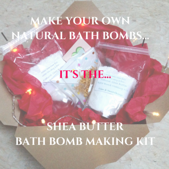 MAKE YOUR OWN NATURAL BATH BOMBS