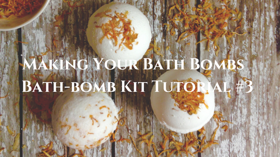 Making Your Own Bath Bombs - Bath-bomb Kit Tutorial #3