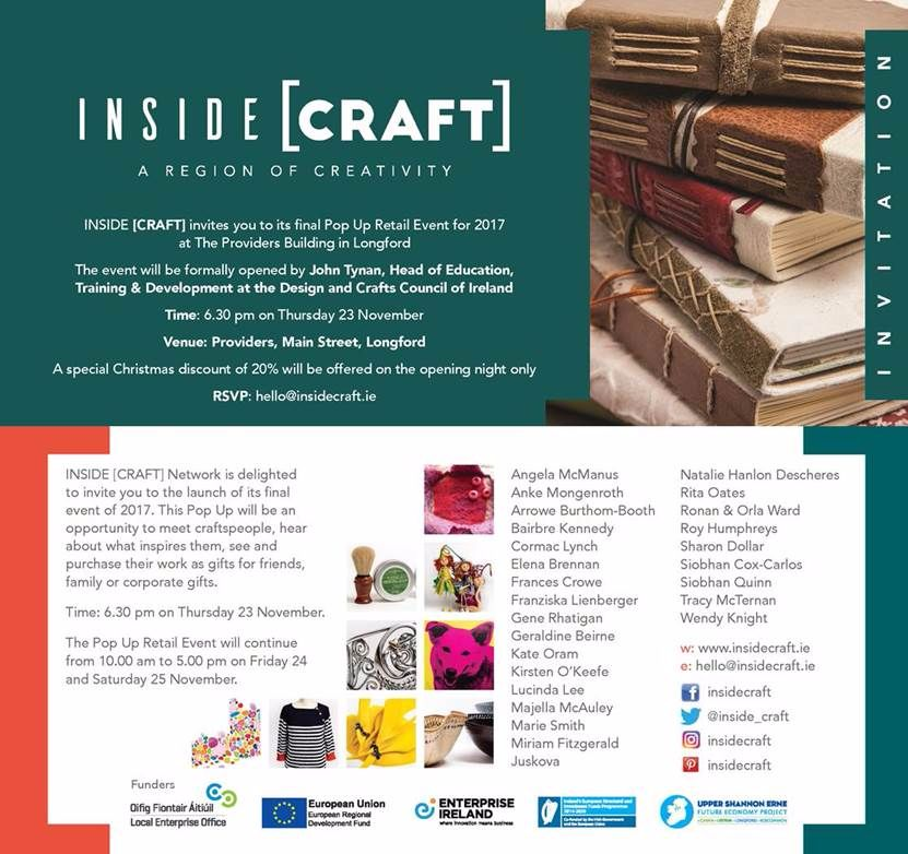 Inside Craft with Lucys Soap Kitchen, Longford