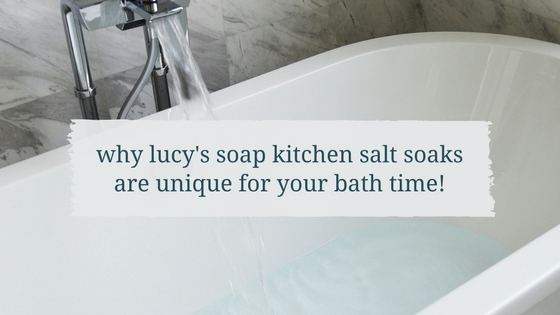 natural bath salts, lucys soap kitchen