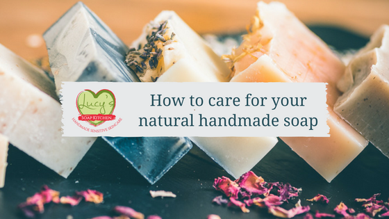 how to use natural handmade soap, Lucys Soap Kitchen, Ireland (1)