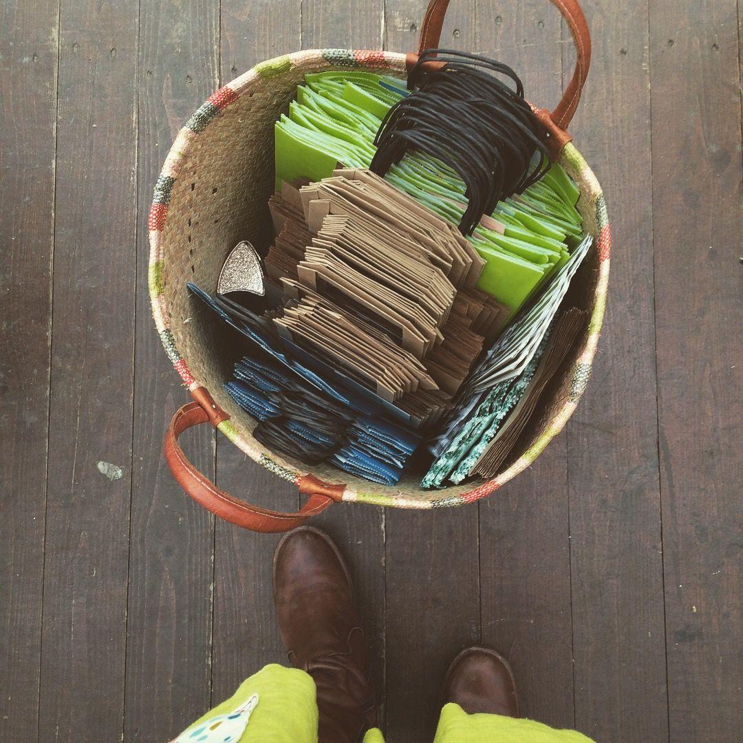 Bag storage for craft fair, Lucys Soap Kitchen