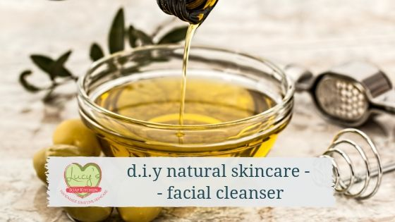 d.i.y natural skincare recipe -facial cleanser