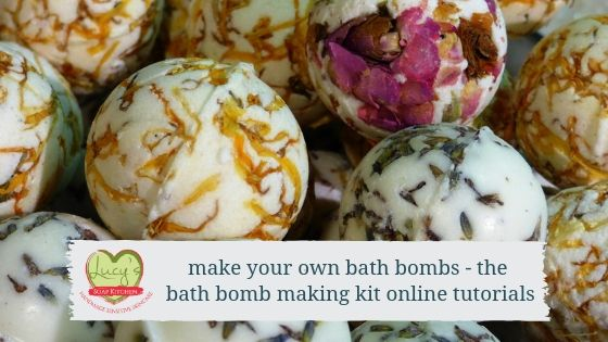Make your own bathbombs, Lucy's Soap Kitchen, Ireland