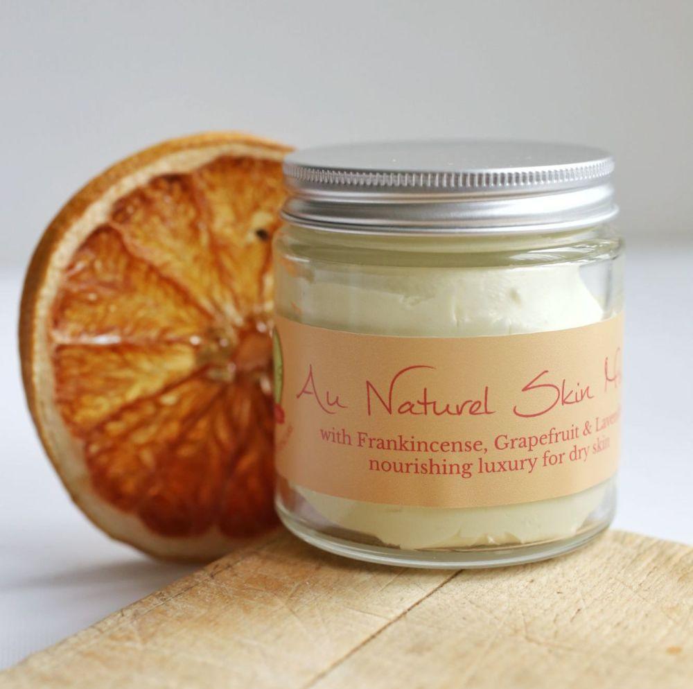 Au Naturel Skin Mousse - with Frankincense, Grapefruit & Lavender