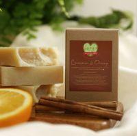 """Cinnamon & Orange"" Natural Soap"
