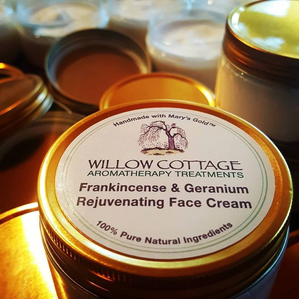 Frankincense & Geranium Essential Oil Face Cream 100ml