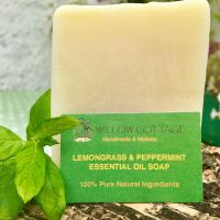 Lemongrass & Peppermint ~ Essential Oil Antiseptic Soap