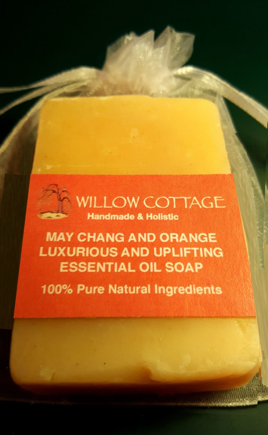 May Chang & Orange Essential Oil - Luxurious & Uplifting Soap