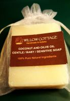Coconut & Olive Oil - Gentle Antibacterial Baby Soap