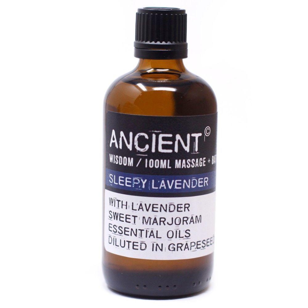 SLEEPY LAVENDER ~ Essential Oil Massage Blend