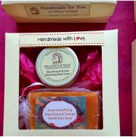 May Chang & Orange Essential Oil Soap and Shea Butter Hand Cream Gift Box