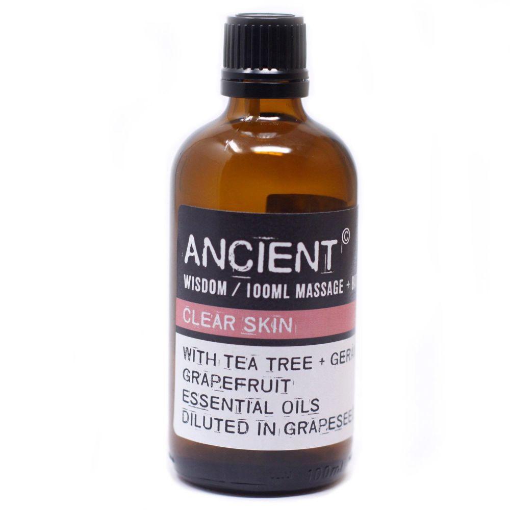 Clear Skin Massage Oil
