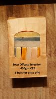 450g Selection of Essential Oil Soap Offcuts = equivalent average weight of 5 bars for the price of 4