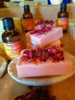 Rose & Ylang Ylang - Essential Oil Soap