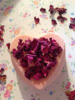 "Rose & Ylang Ylang Essential Oil ""Mood Balancing"" Bath Bomb"