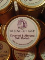Coconut & Almond Oil Decadent Skin Polish 200ml Tub