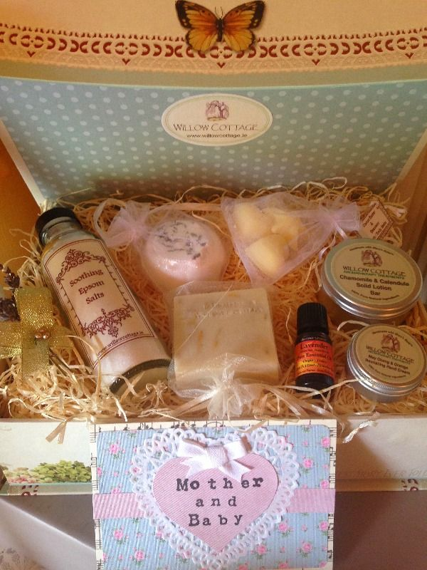 mothers treasure ~ mother & baby 100% natural skincare gift hamper