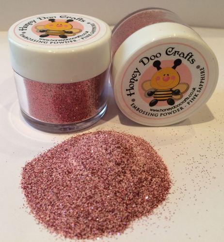 Honey Doo Crafts - Embossing Glitter - Pink Sapphire