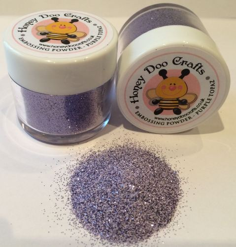Honey Doo Crafts - Embossing Glitter - Purple Topaz