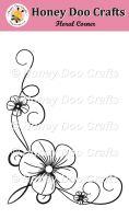 Floral Corner    (A6 Stamp)