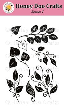 Leaves 1   (A6 Stamp)